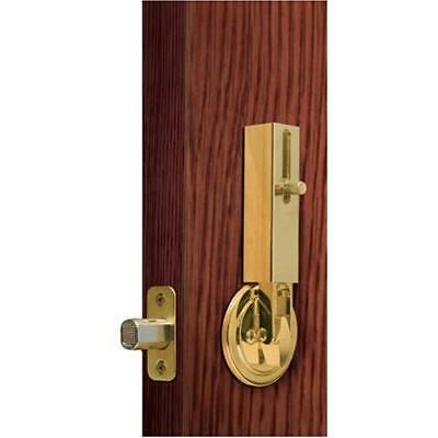 Lock Jaw Security 1001 Door Security Device, Polished Brass New