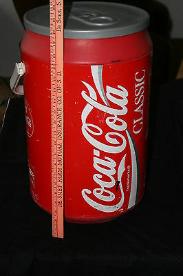 """Coca Cola can shaped cooler 20"""" tall"""