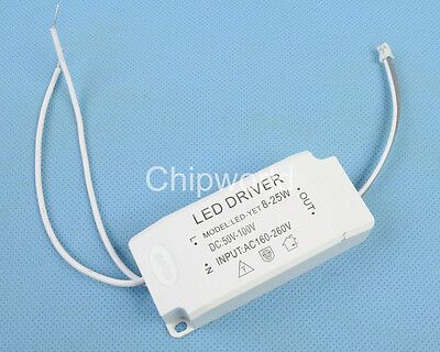 NEW 8-25x1w High Power Drive LED Power Supply Constant Current CC SMD Light