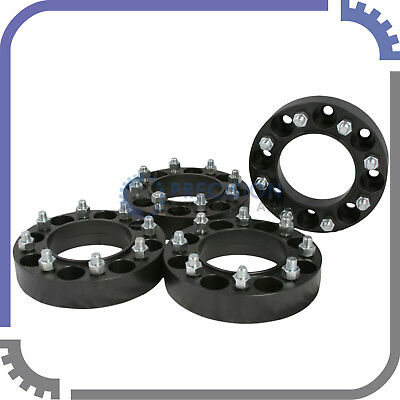"4pc 2"" Skid Steer Steel Black Wheel Spacers 