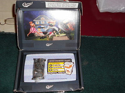 Camel Brush Silver Lighter in Promotional Box from 1997