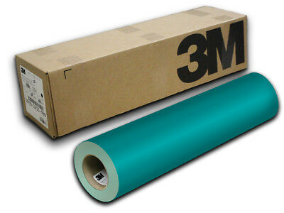 "12"" X 10ft - Teal 3M ScotchCal S50 Craft & Hobby Cutting Vinyl"