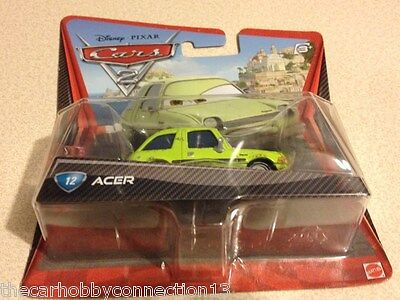 Disney Pixar Cars 2 Movie Acer Pacer - HTF Diecast Edition Scale 1:55