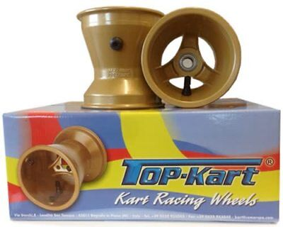 Comer TopKart Kart Cadet Wet Wheel Set 112mm & 140mm