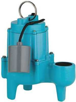 LITTLE GIANT 9SN-CIA-RF Submersible Sewage Pump, 4/10HP, 115V, 38ft