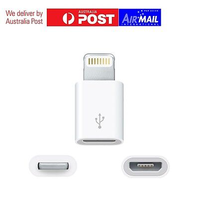 Genuine Apple Lightning to Micro USB Adapter for iPhone iPad iTouch