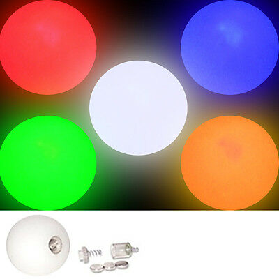 LED Glow Juggling Balls Colour Choice Create a Set Light Up Ball Price per Ball