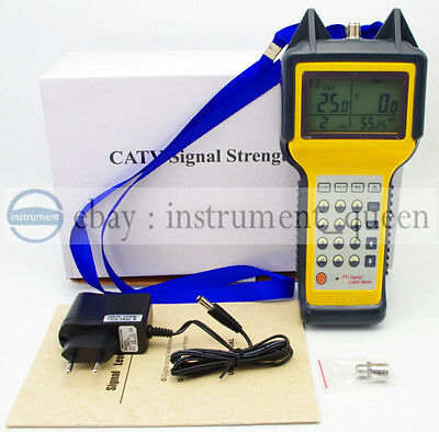 MS2008 Dual Channel Signal Strength Meter 46~870MHz  Signal Level TV