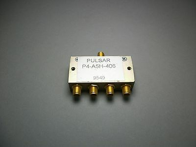 Pulsar Microwave P4-A5H-406 Coaxial Splitter SMA (Female)