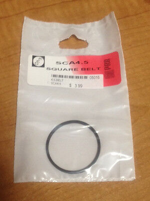 "4.5"" IC VCR Replacement Belt - Square Cut Rubber - SCA4.5 - NEW"