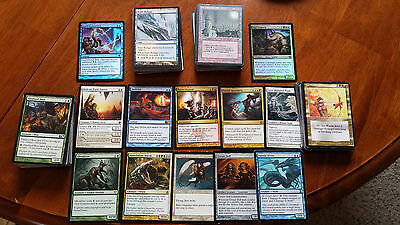 200 Modern Magic the gathering cards  of sets 10+ rares MTG Collection lot CNY