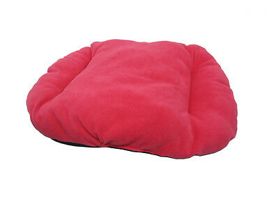 New!!! Medium Pink / Fuchsia Fleece Dog /  Cat Bed Cushion For Bottom Of Basket