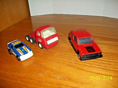 Vintage lot of 3 assorted Diecast Vehicles Tonka and Tootsie toy