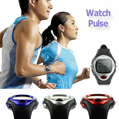 NEW Calorie Counter Pulse Heart Rate Monitor Wristwatch Fitness Sports Exercise