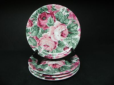 Block China Garden Rose Salad Plates (set of 4)  ..