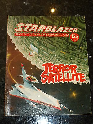 STARBLAZER Comic - No 10 - Date 1979 - D C Thomson Comics