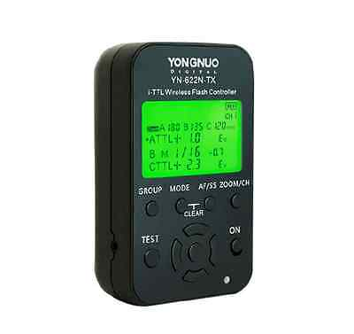 YONGNUO YN-622N-TX i-TTL Wireless Flash Controller Trigger LCD for Nikon Camera