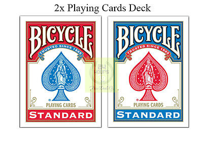 BRAND NEW 2 Decks Bicycle US Standard Playing Cards Card Sealed Poker