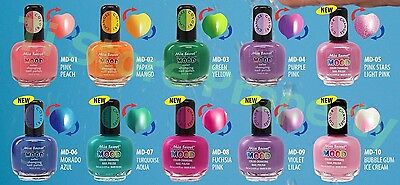 1ea Mia Secret Mood Color Changing Nail Polish Lacquer Pick 1 Made In