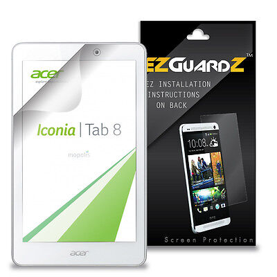 2X EZguardz NEW Screen Protector Skin HD 2X For Acer Iconia Tab 8 A1-840 FHD