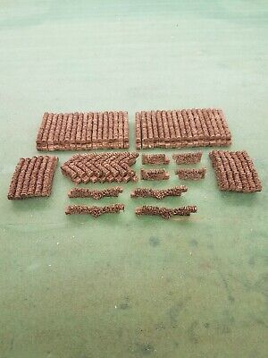 74 STONE WALLING 00 GAUGE SUIT train coach track SCENERY BRAND AND NEW BOXED.
