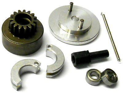 .21 + RC Nitro Engine 2 Shoe Clutch Flywheel + Bell Kit AXLE