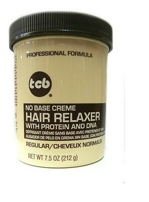 TCB Relaxer / Glättungscreme No Base Creme Hair Relaxer REGULAR 212g