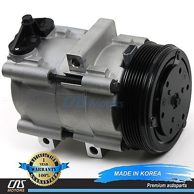 NEW A/C Compressor w/ Clutch 58167 02-07 Ford F-150 F-250 F-350 4.6L 5.4L 6.8L
