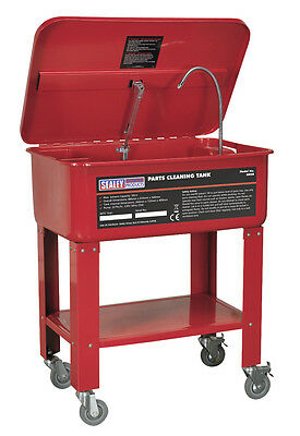Sealey Mobile Parts Cleaning Tank 50ltr