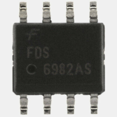 FDS6982 AS - FDS 6982AS smd Dual N-MOS 30V 8,6A / 6,3A