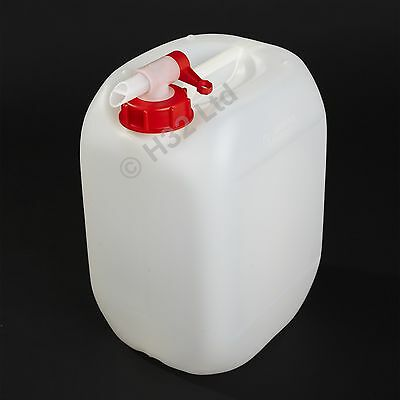 1x New 10L Litre & Airflow Tap Water Container Carrier Drum Bottle 2 Gallon Can