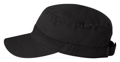 Valucap Fidel Cap - Cadet Military Style Hat - VC800 Chino Twill - 9 Colors NEW