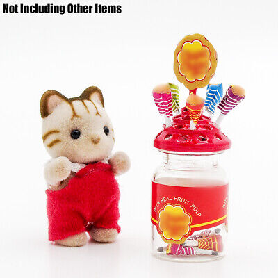 1:12 Lollipop Holder Chupa Chups Candy Sweet Miniature Dollhouse For Rement Gift