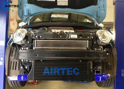 Airtec Front Mount Intercooler Conversion Kit With 60mm Core Fiat 500 Abarth