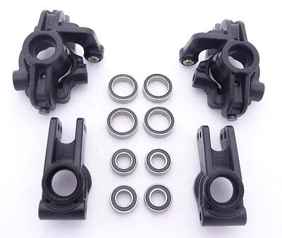 Losi TEN Rally-X 4WD * FRONT CARRIERS, REAR HUBS, & WHEEL BEARINGS *Axle Spindle