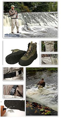 Bison Breathable Chest Waders  & Daiwa Wading Boots  Half Price Special!!!!!