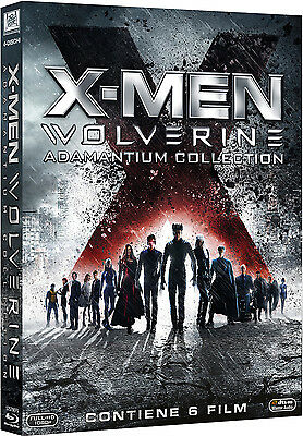 X-MEN COLLEZIONE 6 FILM - Adamantium Collection (6 BLU-RAY) con Hugh Jackman