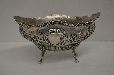 Antique .800 Silver Footed Bowl - 19th Century