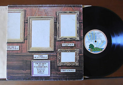 Emerson, Lake & Palmer – Pictures At An Exhibition LP