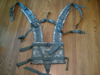 NEW USGI MOLLE II ACU Digital Enhanced Shoulder Straps for Rifleman's Rucksack