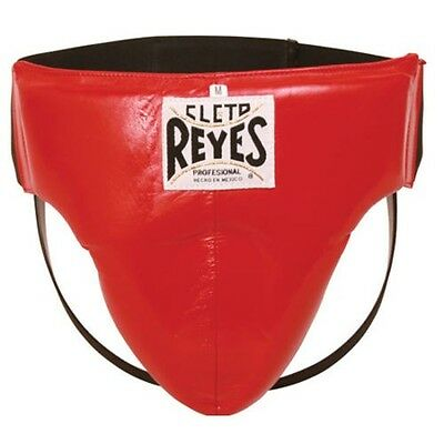 "Cleto Reyes Groin Protection-Light-Red W/free 180"" Rival Mexican Style Handwraps"
