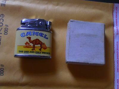 JOE CAMEL LIGHTER @ 1995 R.J.R.T.C RATED AA++  LOOKS FACTORY NEW IS 19 YEARS OLD