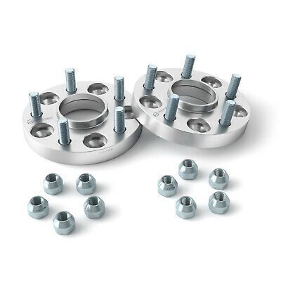 """1"""" HUBCENTRIC Wheel Spacers   5x4.75   7/16"""" Studs   for older Chevy & Buick"""