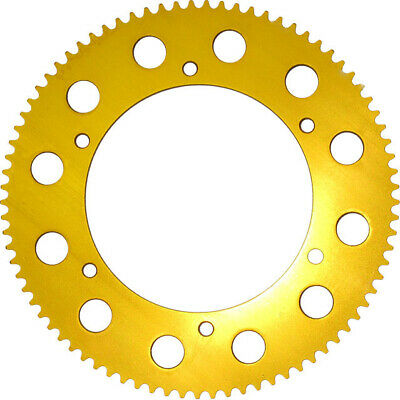 NEW Rear Cog 219 Pitch Sprocket in Gold 81t UK KART STORE