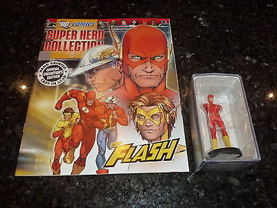SUPER HERO COLLECTION Comic - No 5 - FLASH - DC Comic (With Character)