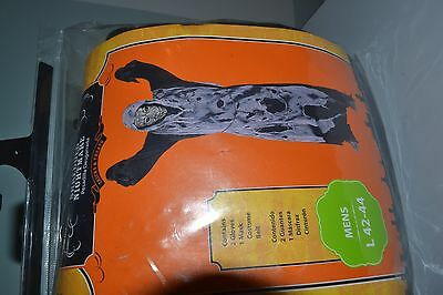 Halloween Costume Adult Shredded Nightmare Zombie L 42-44 SCARY Ghoul Outfit NEW