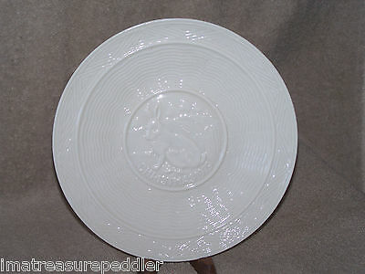 Belleek 1979 Christmas Plate - Rabbit Hare