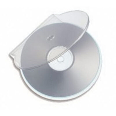 100 x High Quality Plastic C Shell Clam Shell CD DVD Single Cases Case Clear