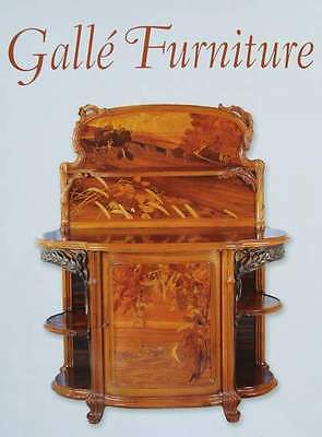 LIVRE : GALLÉ FURNITURE/MEUBLE/MEUBEL (chair/chaise,table,bureau)