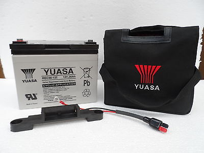 Yuasa Rec36-12 36Ah 36 Hole Battery For Powakaddy Motocaddy Golf Trolley Ypc33
